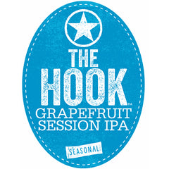 Starr Hill The Hook Grapefruit Session IPA Tap Handle Badge