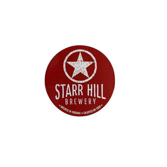 "Starr Hill 3"" Stickers - Red"
