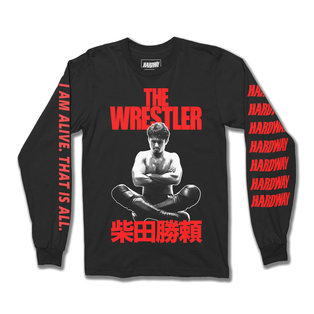 The Wrestler Long Sleeve Shirt