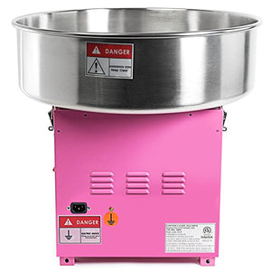 Olde Midway Commercial Quality Cotton Candy Machine and Electric Candy Floss Maker - SPIN 2000
