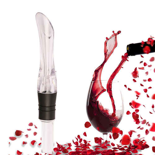 1PC Acrylic Aerating Pourer Decanter Wine Aerator Spout Pourer Portable Wine Aerator Bar Pourer Accessories