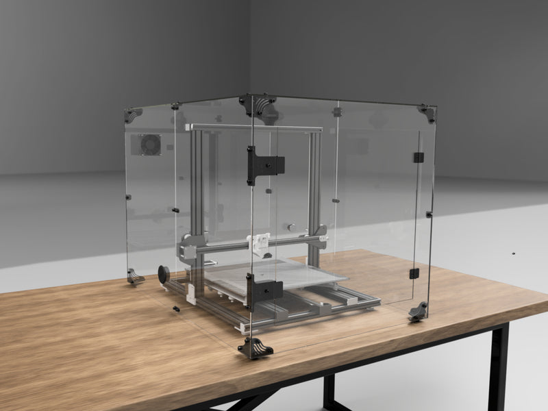 Bigger CR-10 Enclosures are in Progress: S4 and S5