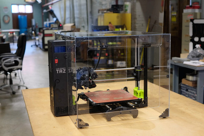 Lulzbot Taz6 Enclosure Shipping!