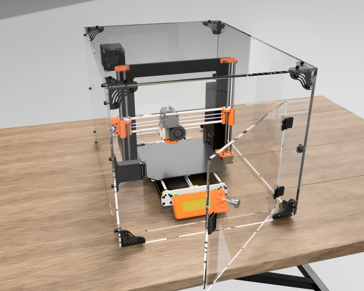 Prusa Enclosure Design Beta Almost Here