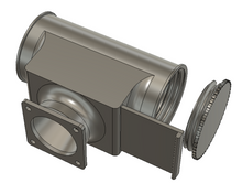 External Air Ventilation Adapters for Multiple 3D Printer Enclosures - Digital Download Only