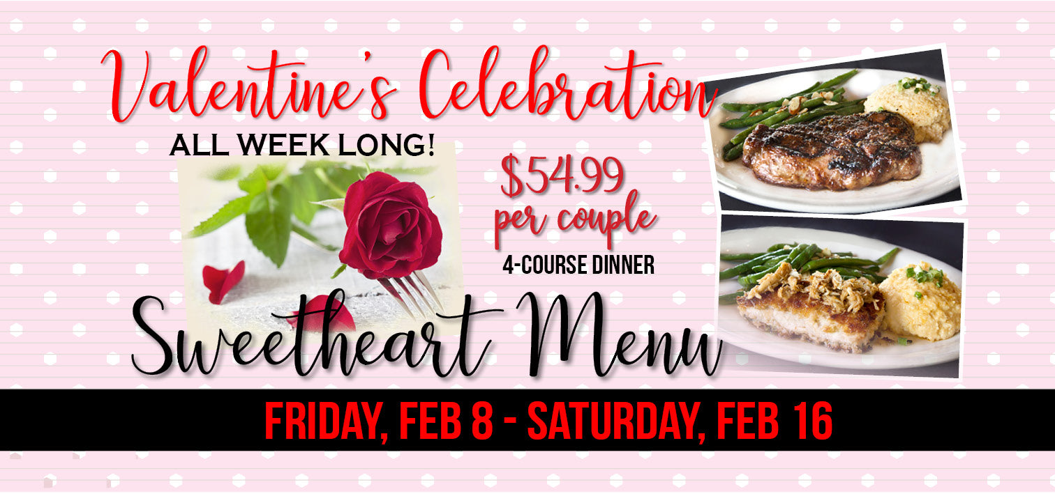 The Cajun Place Valentines Celebration Week