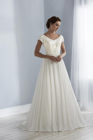 18EL134 Wedding Dress Size 14 Ivory