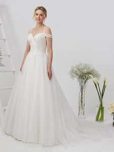 19EL209 Wedding Dress Size 16 Ivory/Blush