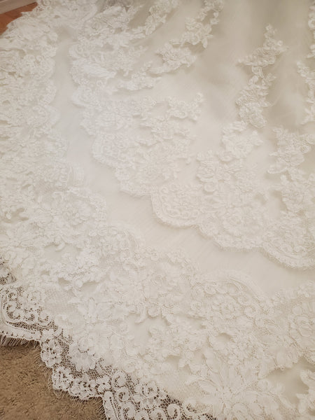 EL17WG Wedding Dress Size 12 Ivory