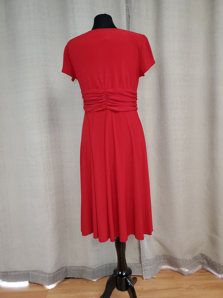 RMR5705 Dress Size 10 Red
