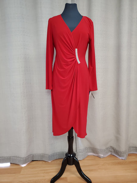 RMR5762 Dress Size 10 Red