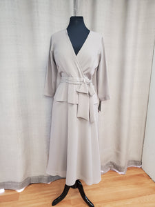 DAN26426 Dress Size 10 Taupe