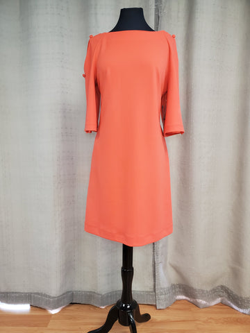 CAR41482 Dress Coral Size 6/12