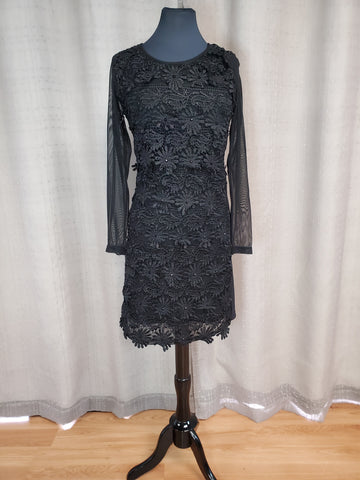 FRA27375 Dress Black Size Medium