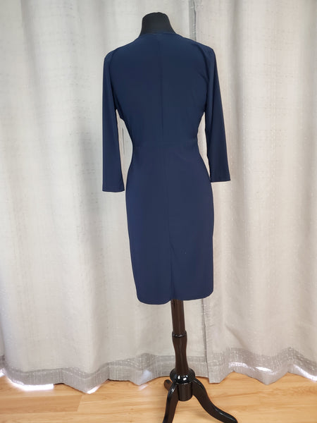 NYA25910 Dress Navy Size Medium
