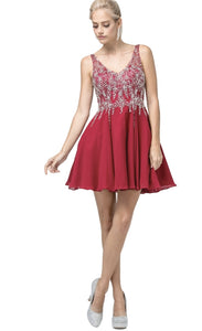 3129 Semi Prom/Homecoming Dress