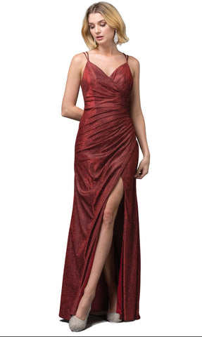 2875 Prom Dress Size XL Red/Burgundy