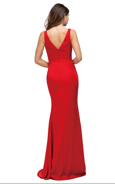 9609 Prom Dress Size XL Red
