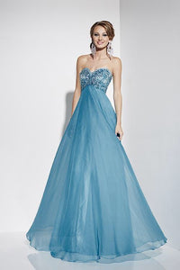Studio 17 12576 Prom Dress Size 8 Turquoise