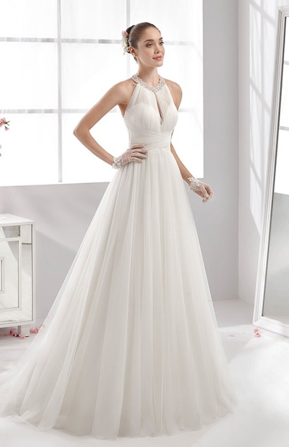 Aurora Nicole 16903 Wedding Dress White Size 14 – Eva Love Bridal ...