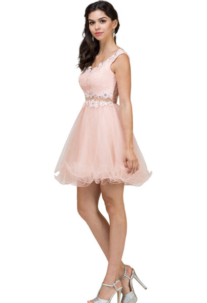 9991 Semi Prom/Homecoming Dress