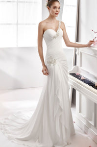 Aurora Nicole 16906 Wedding Dress White Size 12