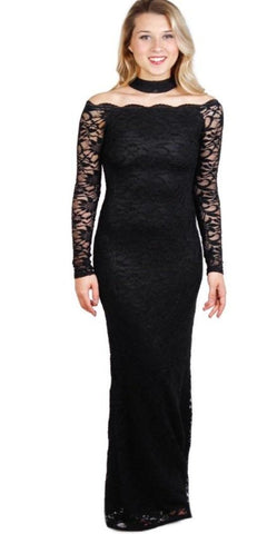 Jump 10172 Evening Black Lace