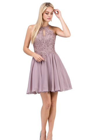 3043 Semi Prom/Homecoming Dress Size Medium