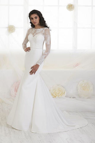 38EL012 Wedding Dress Size 12