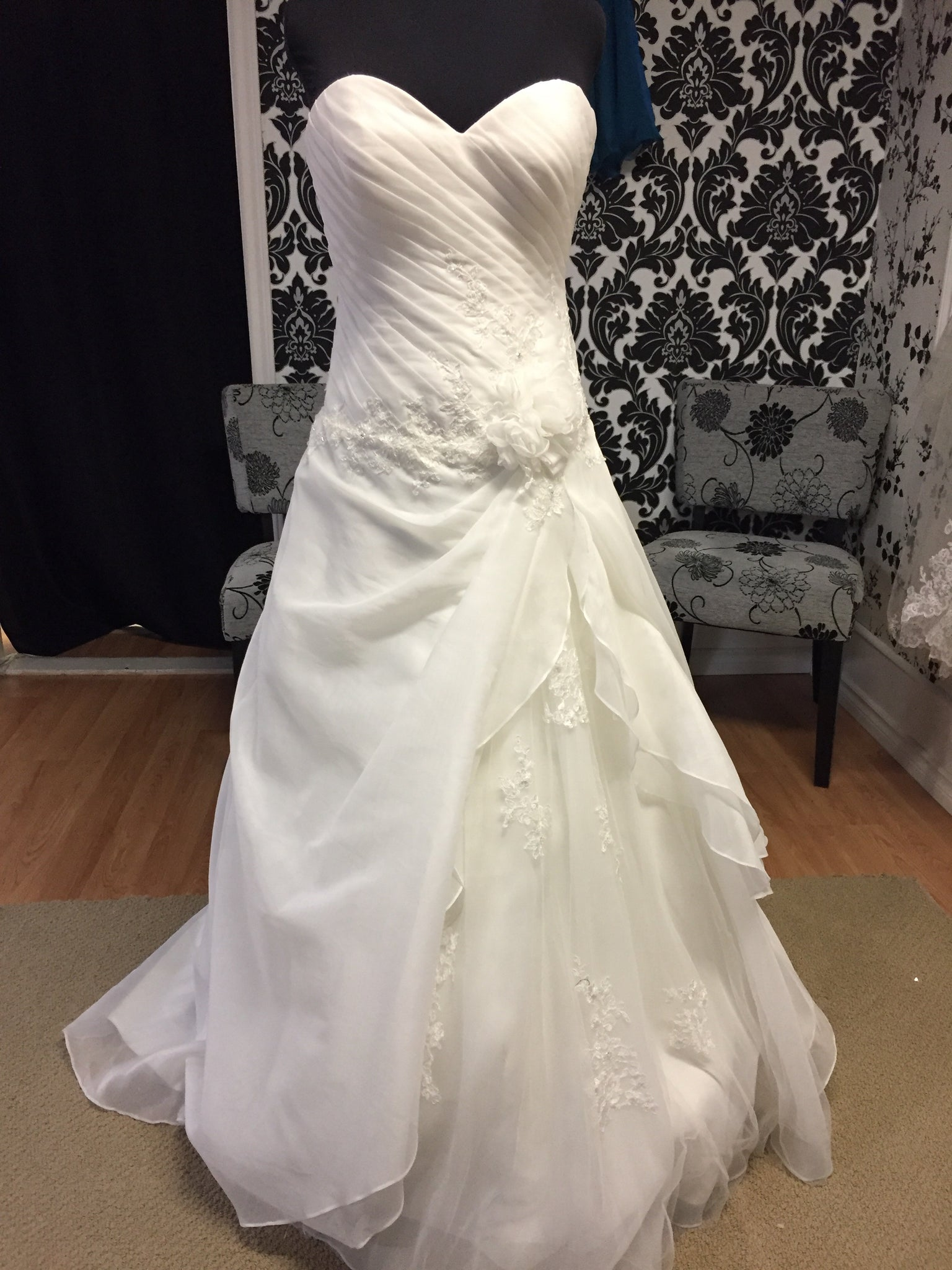 Jolies 16469 Wedding Dress Size 10 Ivory – Eva Love Bridal Prom and ...