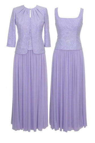 Alex Evenings 425744 Evening Dress Lilac Size 22W