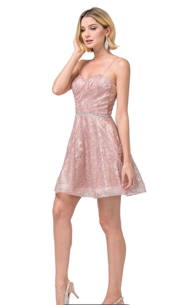 3229 Semi Prom/Homecoming Dress