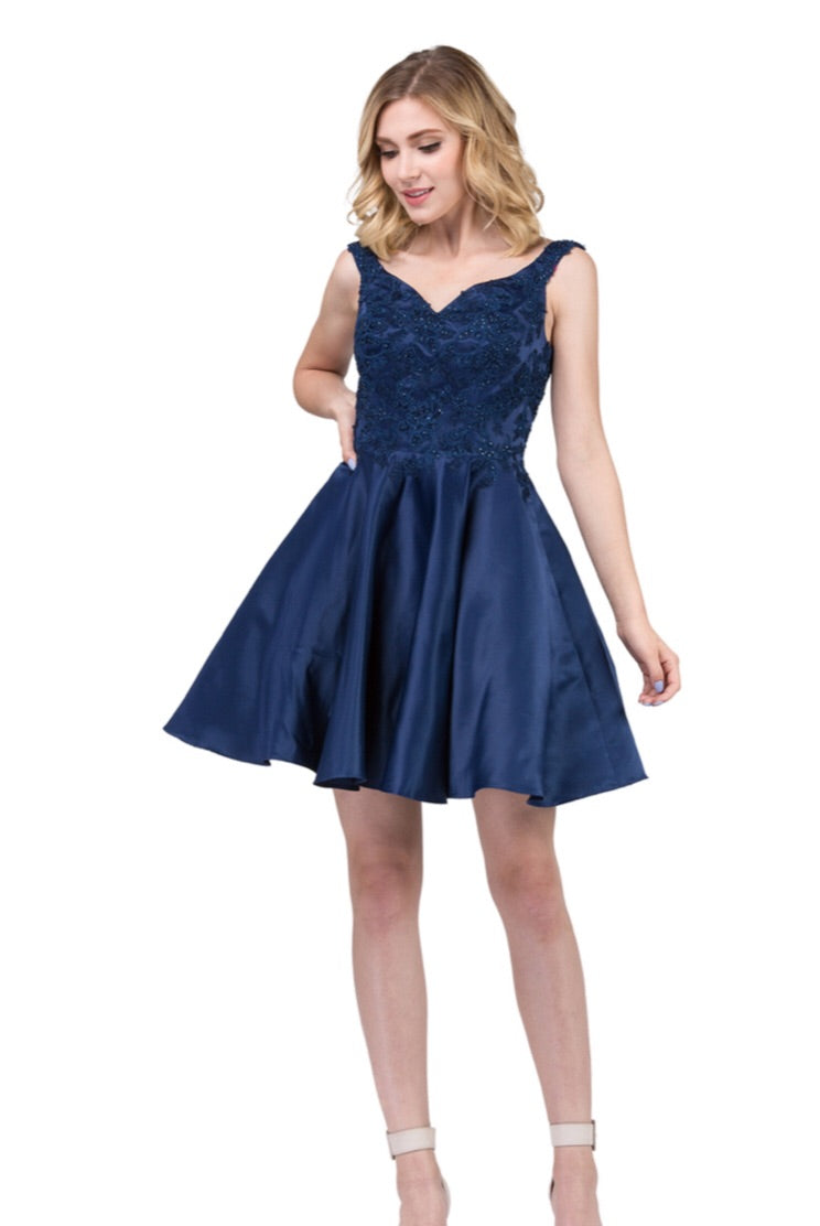3057 Semi Prom/Homecoming Dress