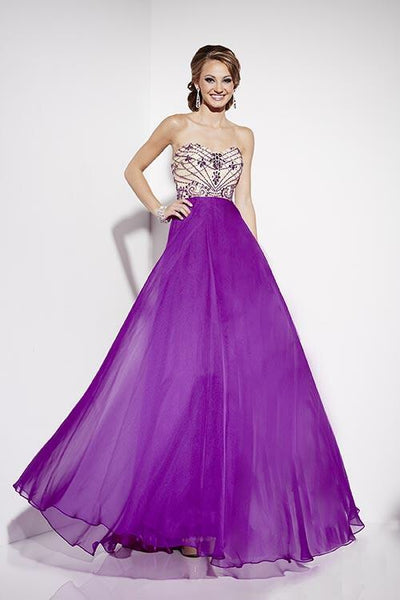 Studio 17 12562 Prom Dress Size 8 Purple