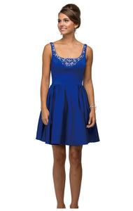 9493 Semi Prom/Homecoming Dress