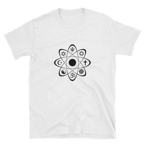 World Religion Atom Tee (White)