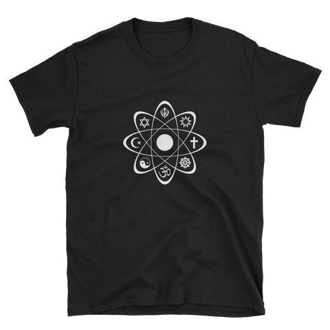 World Religion Atom Tee (Black)