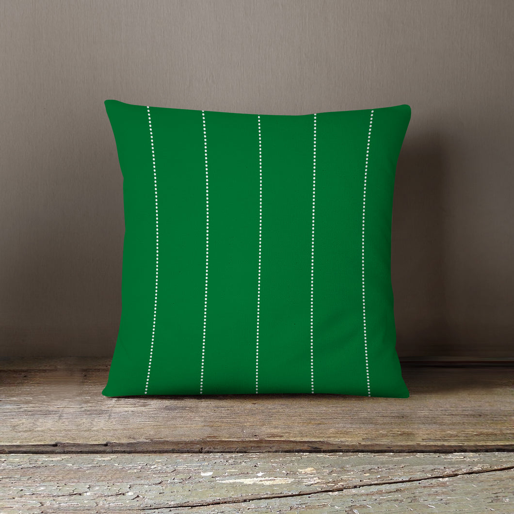 NEW!! Green Dots Pillow Cover