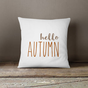 Hello Autumn Pillow Cover