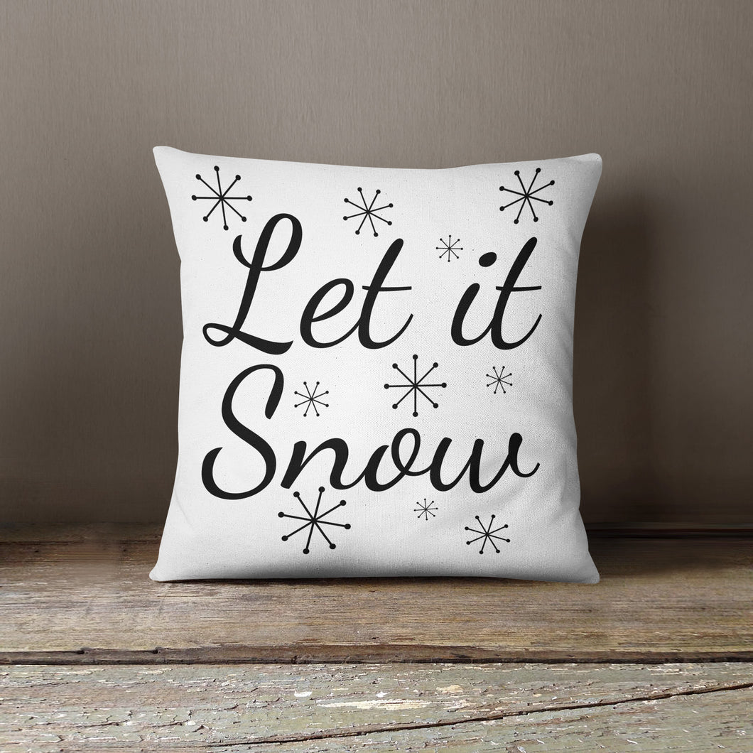 Let It Snow-Pillow Cover