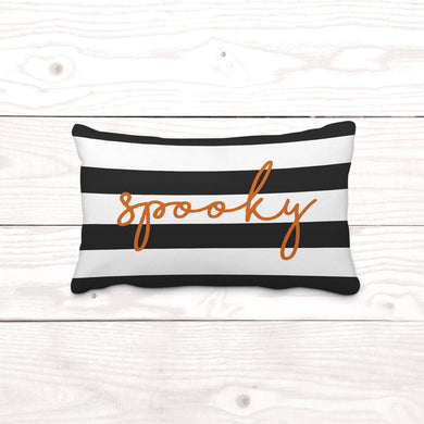 Spooky-Rectangle Pillow Cover