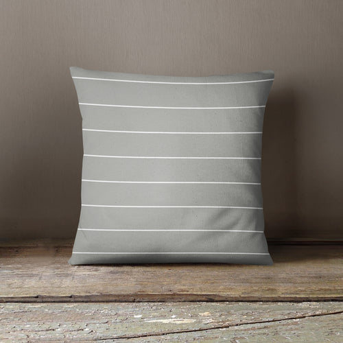 NEW!! Gray/White Stripe Pillow Cover