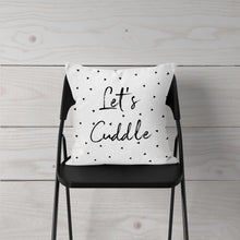 Let's Cuddle-Pillow Cover