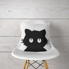 Black Cat-Pillow Cover