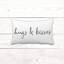 "Rectangle ""hugs & kisses"""