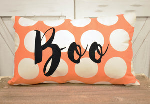 Boo-Rectangle Pillow Cover
