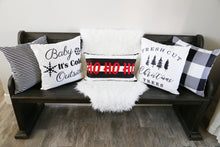HO HO HO Lumbar Pillow Cover