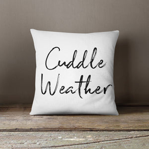 Cuddle Weather-Pillow Cover