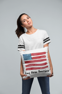 American Flag-Red