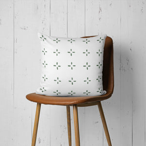 Green Lines-Pillow Cover